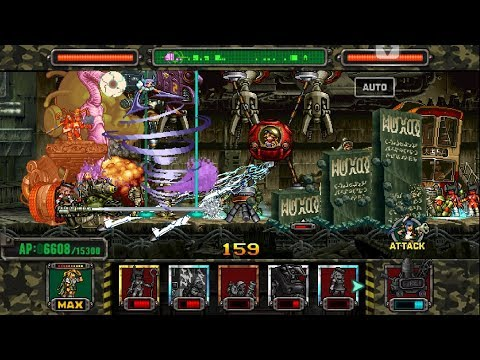 [HD]Metal slug ATTACK. ONLINE!  Custom Weapons  Deck!!! (2.11.0 ver)