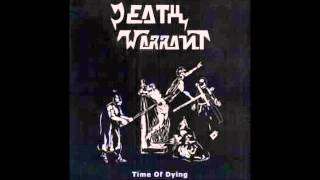 "DEATH WARRANT ""Time of Dying"" Demo 1986 / plus Live recording"