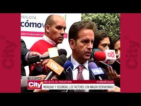 Movilidad y seguridad, los factores con imagen desfavorable en Bogotá | CityTv