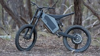 stealth h 52 electric bike overview