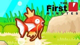 The First 10 Minutes of Pokemon Magikarp Jump