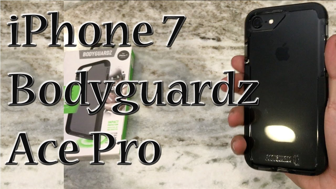 7fa743d417 iPhone 7 Bodyguardz Ace Pro Case Smoke/Black | Unequal Technology ...