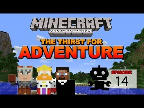 Minecraft: The Thirst for Adventure Ep. 14 Underwater Lava Pool