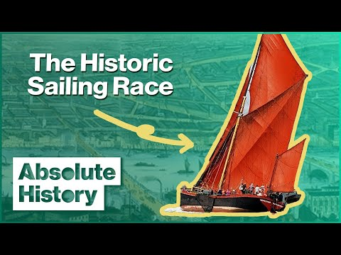 Thames Sailing Barge Match | Thames Through Time | Absolute History