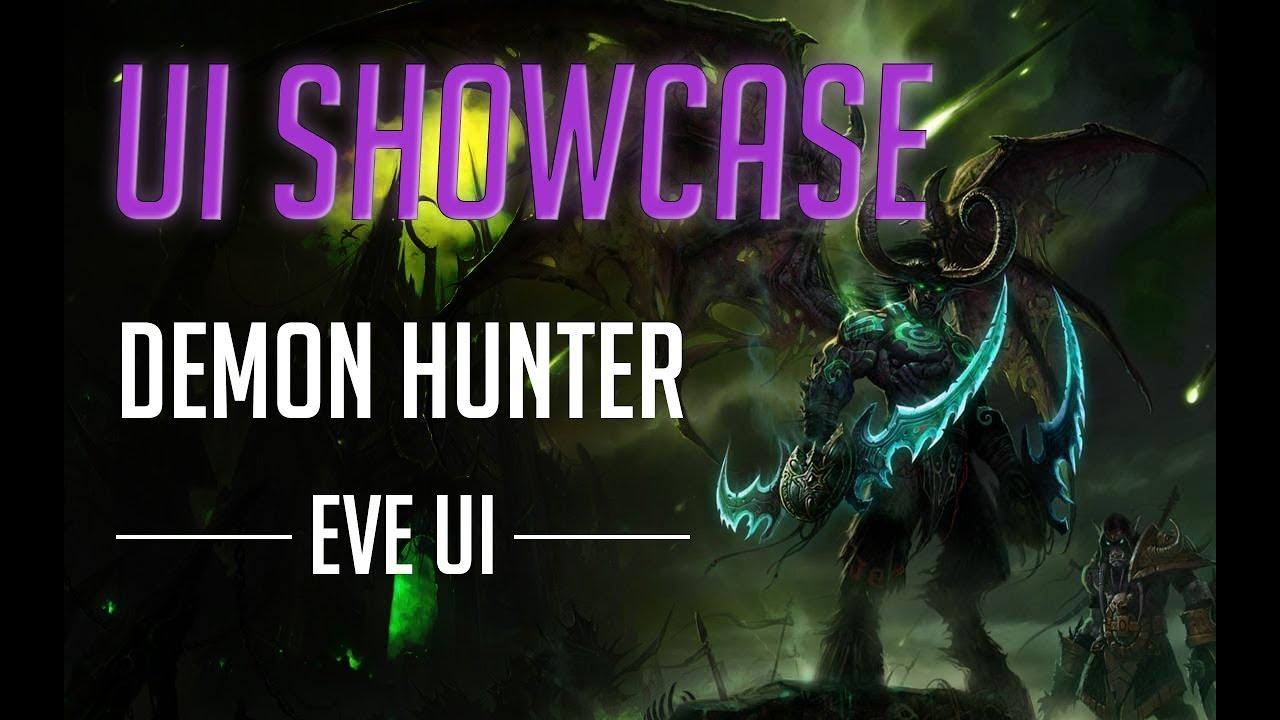 UI Showcase - EVE UI - Demon Hunter UX