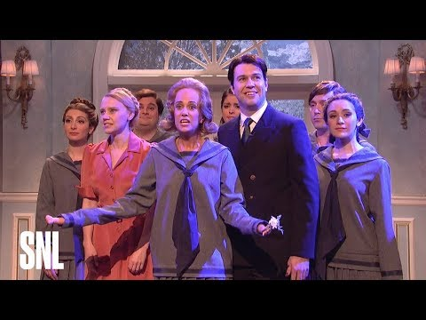 Talented Kristen Wiig as Dooneese in SNL The Sound of Music w excellent Kate McKinnon