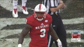 Germaine Pratt (NC State LB #3) Vs. North Carolina 2017