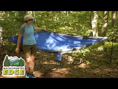 singlenest eno double deluxe blue with nest tag hammock