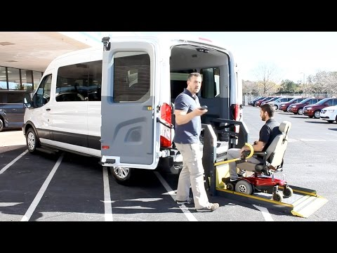 Ford Transit - Wheelchair Accessible, Customizable | AMS Vans