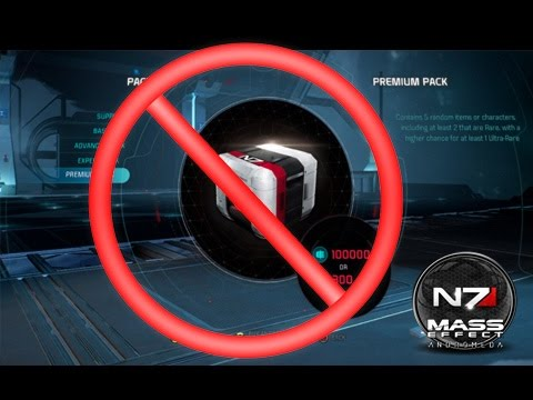 Mass Effect Andromeda - Beware Of Premium Packs (DONT OPEN THESE!!!)
