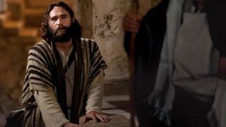 イエスはカヤパの審問を受ける。ペテロはイエスを知らないと言う