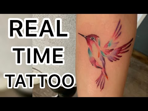 REAL TIME TATTOO - Watercolor Tattoo
