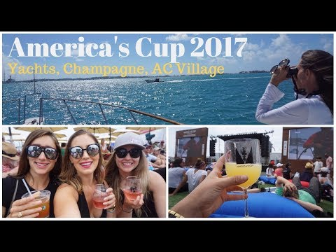 AMERICA'S CUP EXPERIENCE: Mega yachts, Moet, and Fish Sandwhiches