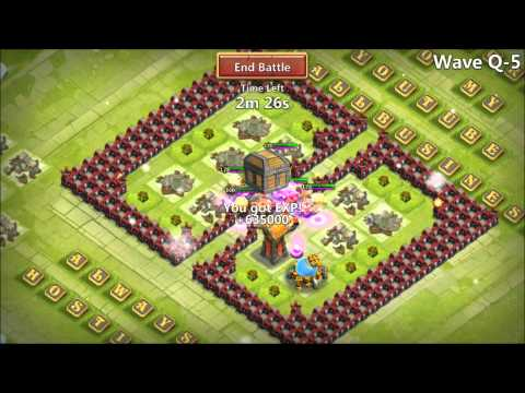 Castle Clash Clips Of HBM Q5 Completed New Pixie Update IOS