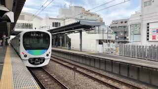 西武池袋線30000系38105F編成各駅停車飯能駅行き東長崎駅発車。