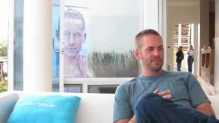 Paul Walker Talks Davidoff Cool Water, Snoop Dogg & Jeggings