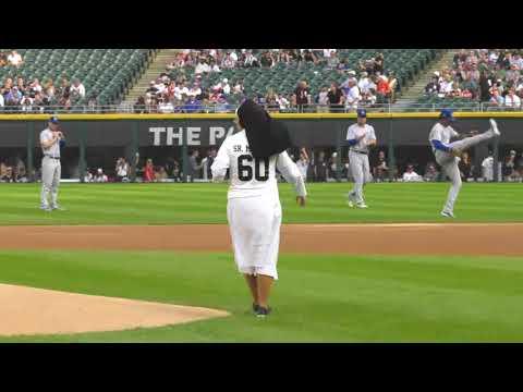 Kristin - Nun Throws Perfect Pitch at White Sox Game!