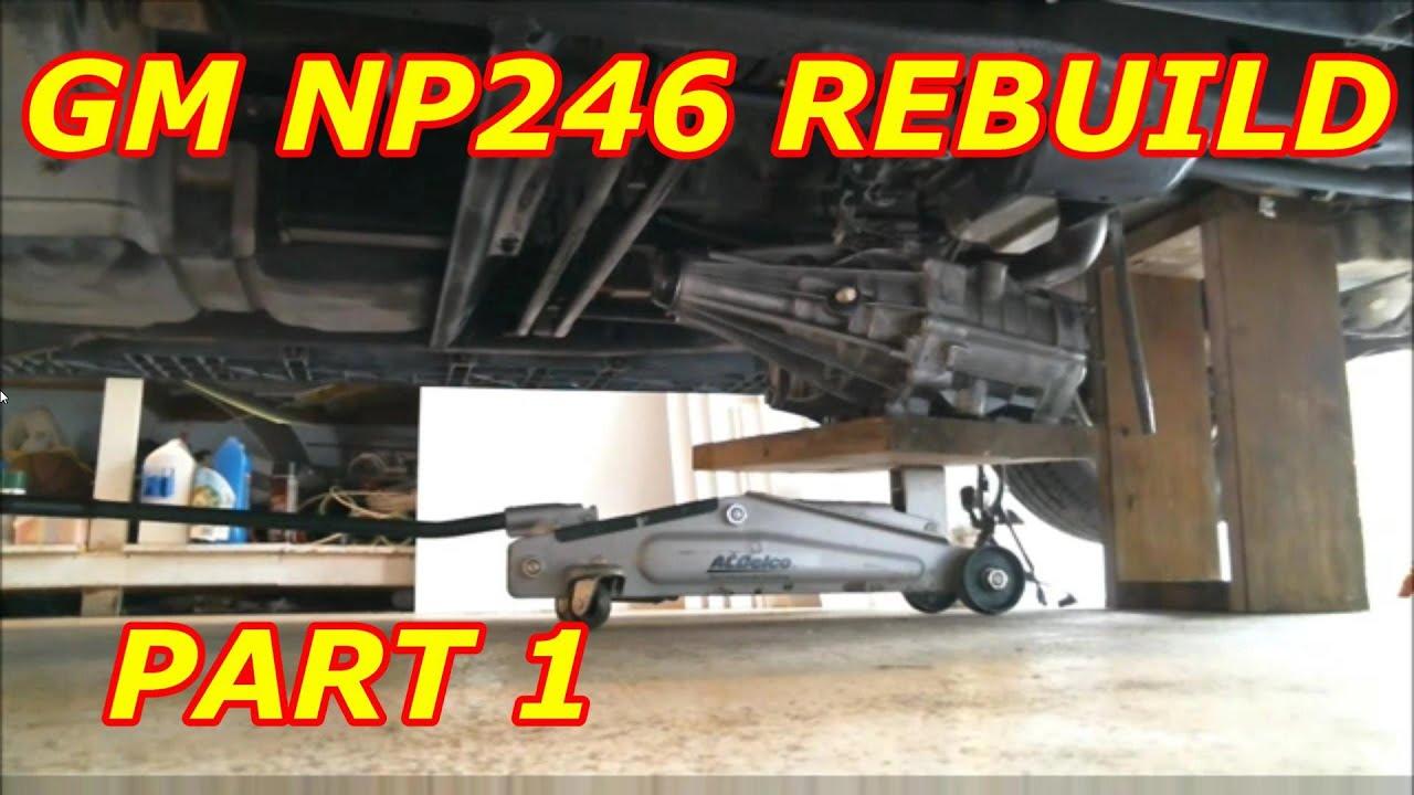 np246 transfer case rebuild manual