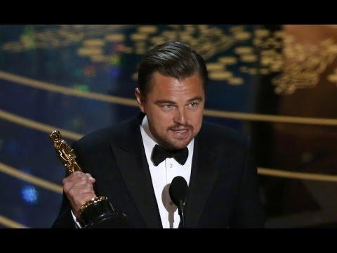 OSCARS 2016 | Leonardo DiCaprio's Winning Speech for Best Actor Oscar for 'The Revenant'- Full Video poster
