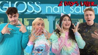 LAST ONE TO WEAR LONGEST NAILS WIN $10,000 challenge!