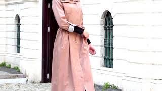 Tesettür Abiye Elbise Şal Kombin Giyim Modelleri Yeni Sezon 2017-2018 Sonbahar Kış