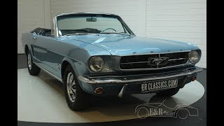 Ford Mustang cabriolet 1965-VIDEO- www.ERclassics.com