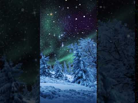 [Samsung Theme-Live Wallpaper]Winter Aurora