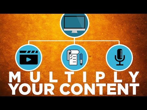Content Multiplying: How to Grow a Business with Less Work