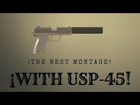 MONTAGE USP-45 | Operation Scorpion | Roblox