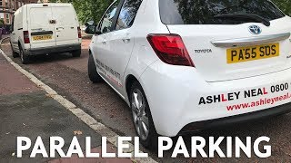How to Parallel Park for the Driving Test.