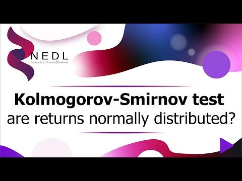 The Kolmogorov-Smirnov test - are stock returns normally distributed? (Excel) (SUB)