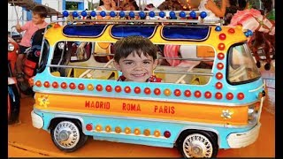 Wheels on the Bus Kids Ride on Cars Playground Fun For Kids