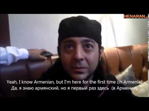 Daron Malakian's first interview in Armenian (with English and Russian subtitles)
