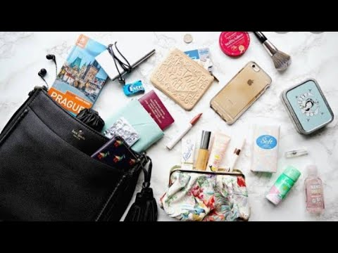 What's in my bag by lifestyle with cooking interesting vlog thumbnail