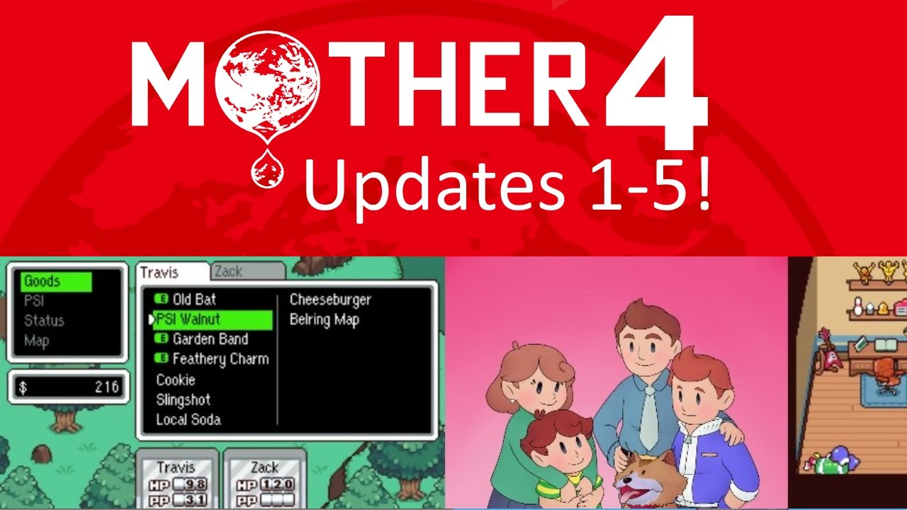 Mother 4 News - Updates 1-5: Characters, and Plot Thoughts!