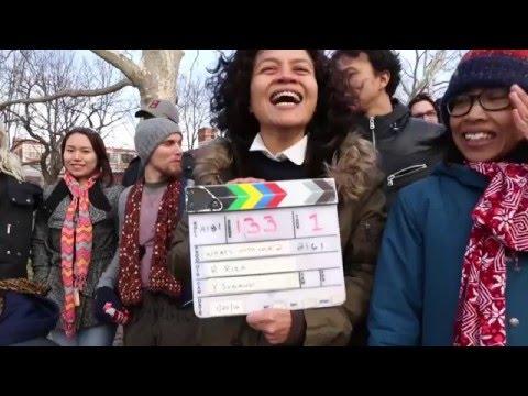 AADC2 - Shooting Rangga (Nicholas Saputra) di New York