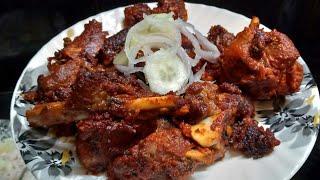 Mutton tandoori recipe -- Smoke mutton recipe..  delicious mutton dish