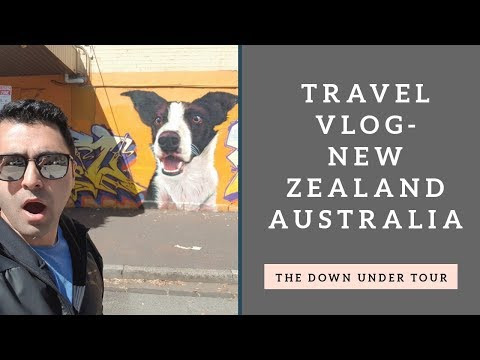 """Australia and New Zealand Travel vlog-The """"Down Under"""" Tour! Episode 14"""