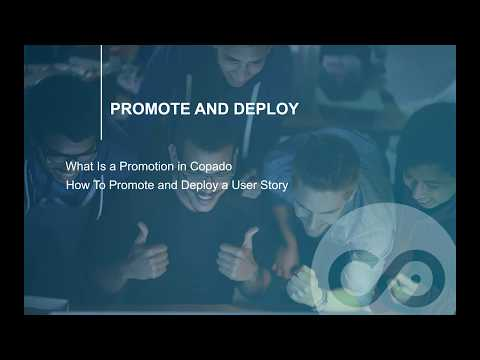 How to Promote and Deploy a User Story With Copado