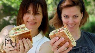 LAURA Y MJ SE VAN DE PICNIC | PAN BAGNAT | Bocadillo de ensalada nizarda