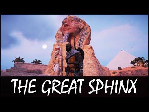 EXPLORING THE GREAT SPHINX! (AC Origins)