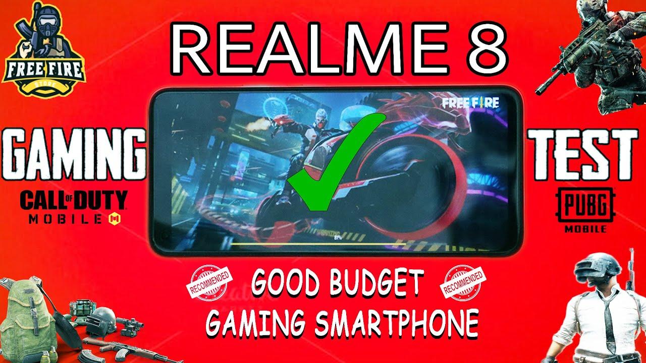 Realme 8 pubg Gaming test english | Freefire | Realme 8 heating issue | Realme 8 Battery drain test