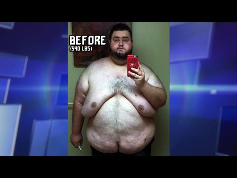 Man's Incredible Weight Loss and Overcoming Food Addiction