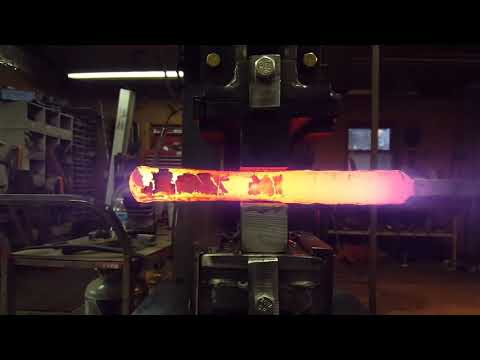 Coal Ironworks - Forging Pattern Welded Steel