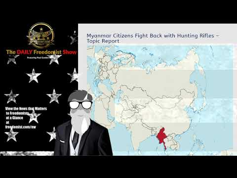 Myanmar Citizens Fight Back with Hunting Rifles – Topic Report