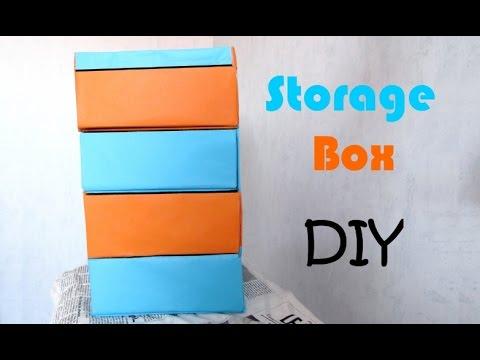 [diy-n°4]-storage-box-with-cardboard