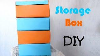 [diy N°4] Storage Box With Cardboard
