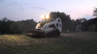 2005 BOBCAT T190 TRACK SKID STEER WITH BRAND NEW TRACKS AND CAB!