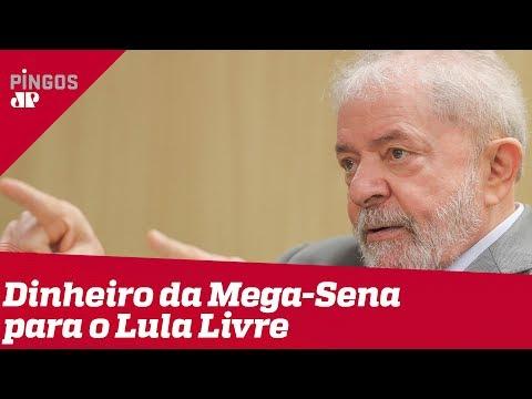 Dinheiro da Mega-Sena vai para o Lula Livre