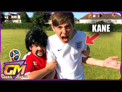 ENGLAND V PANAMA - World Cup Goals Recreated by Kids!!